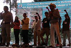 CARAVANA NACIONAL POR LA DEFENSA DEL AGUA, EL TERRITORIO, EL TRABAJO Y LA VIDA
