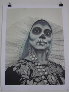 ESCRITORA Y MUERTE